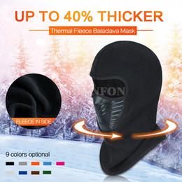 Wholesale Motorcycle Beanie Helmets - DHL 50PCS Unisex Winter Warm Hat Motorcycle Windproof Face Mask Hat Neck Helmet Beanies For Men Women Sports