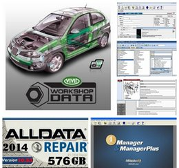 Wholesale Peugeot Auto Parts - HOT!!! 2015new 161GB Mitchell Repair with Estimator+ alldata 10.53+new big auto parts catalogueetc 48 in1 with 1TB New Hard Disk