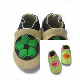 Wholesale Cheapest Kids Winter Shoes - animal design baby genbuine cow leather shoes cheapest kids shoes