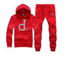 Wholesale diamond supply hoodies - Diamond Supply sweat suitPlus velvet Mens hoodies and sweatshirts sport man hoody 2016 male hooded 22 COLORS