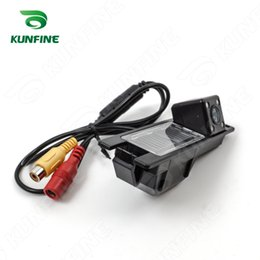Wholesale Buick Excelle - CCD Track Car Rear View Camera For Buick Excelle 2009-2013 Parking Assistance Camera Track line Night Vision LED Light Waterproof KF-V1242L