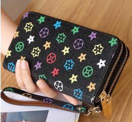 Wholesale Brand Name Messenger Bag - Hot brand-name wallet high quality famous big designer clutch bag ladies handbag shoulder bag messenger bag wallet