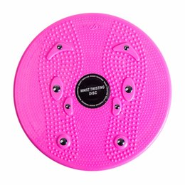 Wholesale Aerobic Exercise Training - Wholesale- Practical Twist Waist Torsion Disc Board Magnet Aerobic Foot Exercise Yoga Training Health Twist Waist Board Well Sell