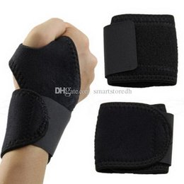 Wholesale Band Braces - 1Pc Wrist Guard Band Brace Support Carpal Tunnel RSI Pain Relief Gym Strap F00326 SPDH