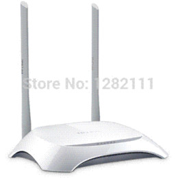 Wholesale Tl Wr842n - Wholesale TP-LINK TL-WR842N Wireless WIFI Router 300Mbps 802.11b g n u 3u 1 WAN 4 LAN for SOHO Computer Enterprise Home router sale