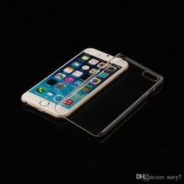 Wholesale Iphone 4s Cases Slim - Slim Transparent Crystal Clear Hard PC Shell Skin Cover Case for iPhone 6 4.7 inch iPhone6 Plus 5 5S 5C 4 4S