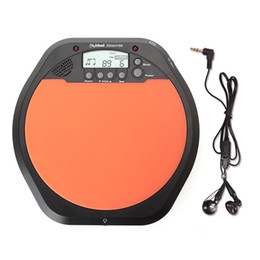 Wholesale Practice Drum Pad Electronic - Top Quality Digital Electric Electronic Drum Pad for Training Practice Metronome with Retail Package I17 Wholesale Price