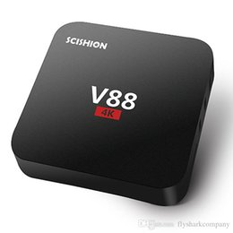 Wholesale Free Online Movies - 2017 V88 Android TV Box Rockchip RK3229 Smart Boxes 4K Quad core 16.1version Full Loaded support 3D Free Movies Online Mini PC