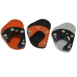 Wholesale Part 125 - Motorcycle Dirt Bike Parts Kickstand Foot Side Stand Extension Pad Non-slip Side Stand Support Plate For 125 200 390 690 950 990