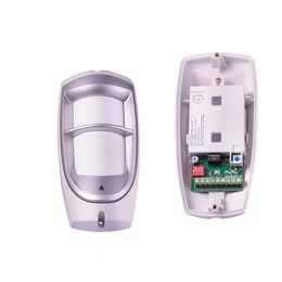 Wholesale Dual Outdoor Detector - wired Pet friendly immune outdoor pir motion detector Weather Proof Dual beam PIR detector Sensor work with alarm host