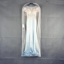 Wholesale Wholesale Cheap Evening Dresses - Waterproof Evening Dress Dust Bag Garment Dress Store Storage Dust Coat have pocket High Quality Cheap 10 Piece per lot