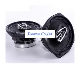 Wholesale Speakers Cars 6x9 - 6x9 oval car coaxial speakers audio conversion speaker treble horn