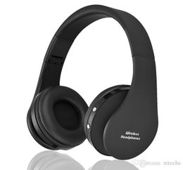 Wholesale Best Stereos - Best-selling NX-8252 Foldable wireless headphone bluetooth headphone headset sports running stereo Bluetooth V3.0+EDR with retail packaging