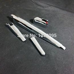 Wholesale Mazda Cx5 - For 2013 2014 2015 Mazda CX-5 CX5 CX 5 ABS Chrome Rear Wiper Cover Rear Windshield Windscreen Wiper Car Styling Accessory 4pcs