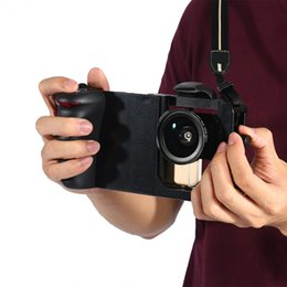 Wholesale Holder Kit Filters - Bluetooth Stabilizer Universal Adjustable Handheld Stabilizer Rig Mount Kit Holder with Lens Filters Use for Smart Phone
