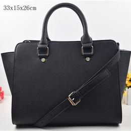 Wholesale Big Women Shoulder Bag - Free shipping new women famous handbags shoulder tote bags purse PU leather summer beach bag big size 3036
