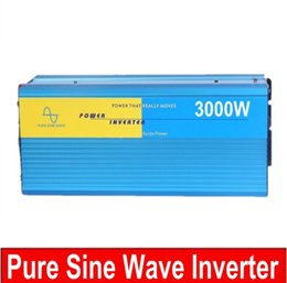 Wholesale Solar Wind Power Inverter - 3000w inverter pure sine wave max 6000w power DC 12V 24V 12V 110V to AC100V-240V 50Hz 60Hz for solar wind home use