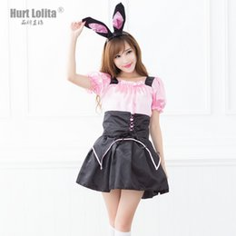 Wholesale Hot News Women - NEWS Christmas costumes sexy underwear game uniform Bunny Rabbit costume Sexy lingerie hot sale Santa Claus