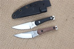 micarta handle Promo Codes - Top Quality 2 Style D2 Fixed blade knife 60HRC Satin blade Micata Handle Outdoor Camping Hiking Fishing Survival Straight knife knives