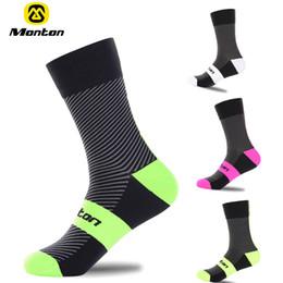 Wholesale Professional Mountain Bikes - 2016 High quality Professional Monton brand sport socks Breathable Road Bicycle Socks Mountain Bike Socks Racing Cycling Socks Shuguang