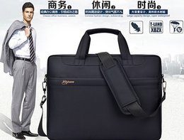 Wholesale 14 Laptop Briefcase Shoulder Bag - Wholesale Laptop Bags 15.6 inch 12 inch 14 inch Multifunction Portable Tablet Laptop Computer Bag Shoulder Briefcase Large Capacity