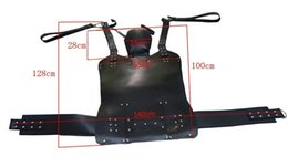 Wholesale Slings Stirrups - HEAVY DUTY LEATHER SEX SWING   SLING with STIRRUPS,couples sex toys