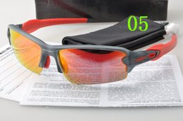 Wholesale Orange Sport Bike - 9271 Cycling Bike Sports Sunglasses for Bicycle Outdoor Eyewears Goggle Brand Designer FLAK 2.0 Half Frame Sunglasses for Men and Women