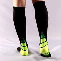 Wholesale Usa Volleyball - USA Professional Elite Basketball Socks soccer socks,Unisex Long Knee High stocking quality Thicken long hose sport Compression socks