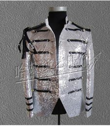 Wholesale Host Club - Han edition character costumes bar singer star man new stage performance clothing clubs sequins host coat S - 4 xl