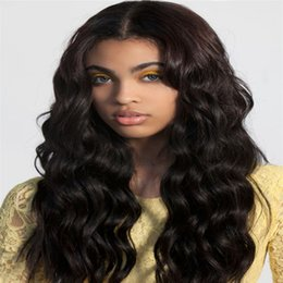 Wholesale Human Hair Wigs Malaysia - 8A Full Lace Human Hair Wigs For Black Women Loose Wave Lace Front Human Hair Wigs Malaysia Virgin Hair Lace Front Wigs