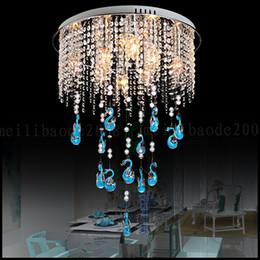 Wholesale Bar Meter - Modern Creative LED Crystal Ceiling Lamp Fixture Chandelier For Children Girls Bedroom Linving Room Dinning Room Hotel Bar