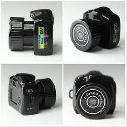 Wholesale Smallest Spy - Spy Mini Camera Y2000 720P HD Webcam Video Voice Recorder Micro Cam Smallest Camara Hidden Digital Mini Camera