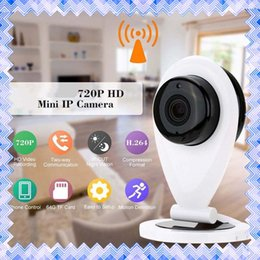Wholesale Security Mobile Camera - 720P HD Wireless P2P Baby Monitor Mini Wifi IP Camera Home Security Mobile Remote Cam FT CCTV 01