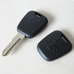 Wholesale Peugeot Transponder Chip Key - Hottest transponder chip key case for peugeot transponder key blank shell with 206 blade
