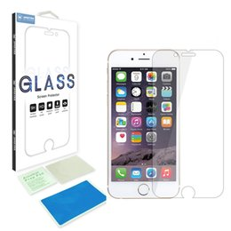 Wholesale Iphone 4s Scratch Guard - for iPhone x 8 7 SE 6 6S Plus 5 5S 4S 4 0.26mm Tempered Glass Screen explosion proof anti-scratch Protector film guard protective retail-box