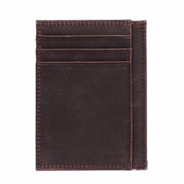 Edelstahl dünne Geldklammer Geldbeutel Mappen Kreditkarte ID Bargeld Halte QP