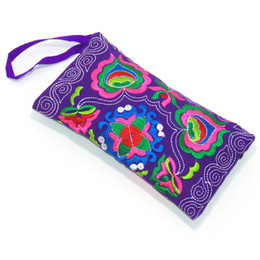 Canada New Femmes Portefeuille Embroider Purse Clutch Mobile Sac De Sac De Téléphone cheap embroider purse Offre