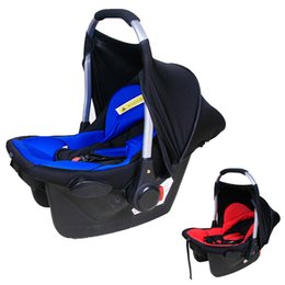 Wholesale Retail Baby Car Seat - Retail Newborn Baby Car Safety Seats Cushion Cradle Carrier Adjustable Tote Basket Cot 0-2 Years Old Portable Car Seat VT0278
