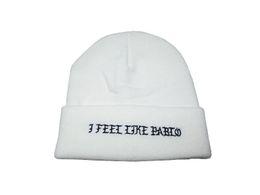 Wholesale Black Felt Hat Wool - New I feel like pablo beanie drakepalace winter caps lk skull hats Carhart hats baseball winter wool cap weezy Cayler & Sons hats