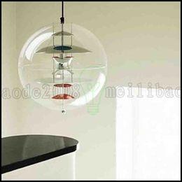 "Wholesale Led Ceiling Lamp Globe - 15.7"" Modern VP Globe Hanging Suspension Pendant Lamp Ceiling Light Chandelier LLWA238"