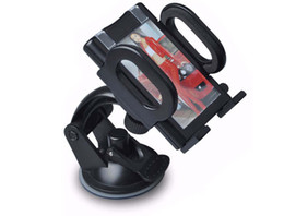 Wholesale Car Cell Support - 360 Rotating support car universal holder for all cell phone side wi dth 120mm to 40mm hot quality