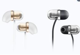 Wholesale Remote Pc Iphone - Xiaomi Capsule Piston Mi In-Ear Earphone With Mic Remote for Xiaomi Iphone Mobile Phone PC MP3 Piston 3 2 1More