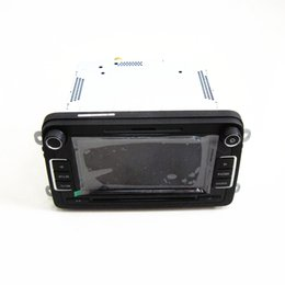 Wholesale Gps Volkswagen Jetta - OEM RCD510 car dvd Radio For VW Jetta Golf GTI MK5 MK6 Passat B6 B7 CC Tiguan Scirocco Polo 5ND 035 190 A