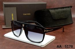 Lüks üst qualtiy Yeni Moda 5178 0392 0394 Tom Kadın Erkek Güneş Gözlüğü Için Erika Gözlük ford Tasarımcı Marka orijinal kutu ile Güneş Gözlükleri nereden gotik maskeler tedarikçiler