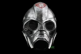 Wholesale Halloween Gas Masks - Horror Movie Resident Evil 3 Spooky Resin Mask Halloween Party Cosplay CS Protective Gas Masks Carton Packing High Quality