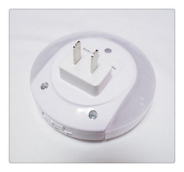Wholesale Light Sensors For Sale - Smart Design LED Night Light with Light Sensor and Dual USB Wall Plate Charger Perfect for Bathrooms Bedrooms Etc Hot On Sale