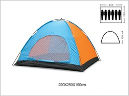 Wholesale Camping Tens - 6-8 Person Outdoor Naturehike Family Camping Tents Hiking Party Tents Large-family-tents Event Large Space Tent Double Layer Large Space Ten