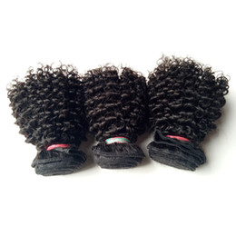 Wholesale Brazilian Indian Remy - Brazilian Virgin human Hair sexy 8-22inch Kinky Curly hair extension High Quality Factory wholesale price Indian remy Human Hair double weft
