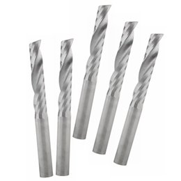 Wholesale Cnc Engravers Routers - Carbide Inserts Milling Milling Engraver Tungsten Cobalt Alloy Smokeless Metal CNC Router Bits Single Flute Tools