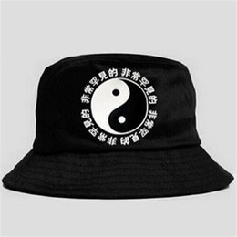 Wholesale Plain Bob - Wholesale-2016 Hot Selling Fashion Camping Hiking Hunting Fishing Outdoor Bob Cotton Plain Blank Black Bucket Hat Cap Hip Hop Men Women